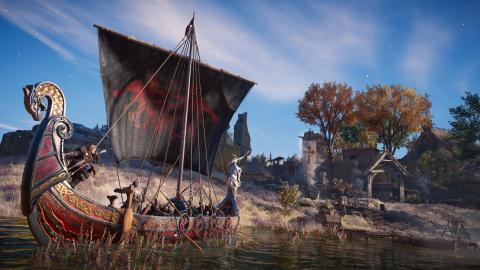 Assassin's Creed Valhalla : Le directeur narratif s'en va vers de nouvelles aventures