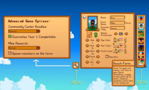 Stardew Valley : la mise à jour 1.5 débarque sur PC (coop en écran splitté, Beach Farm...)