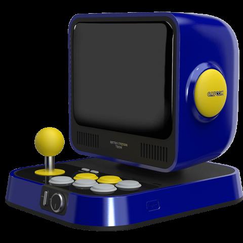 Capcom officialise la Retro Station, une mini borne avec dix jeux Mega Man et Street Fighter