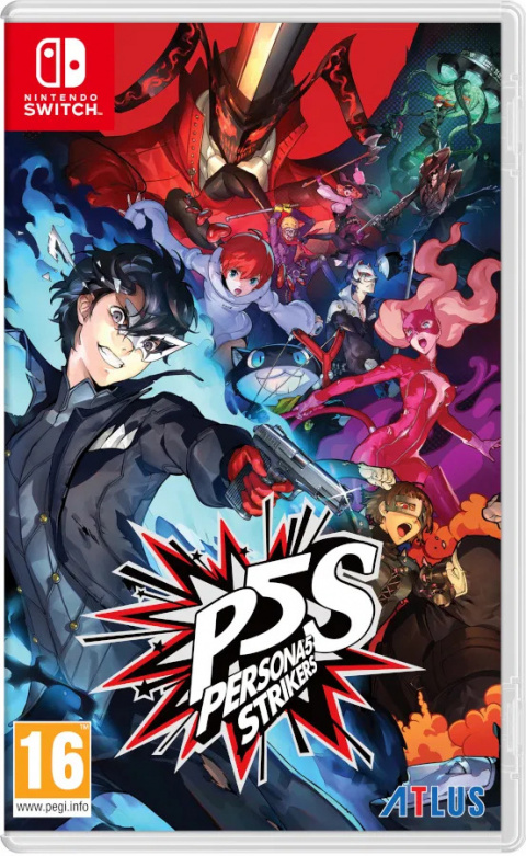 Persona 5 Strikers sur Switch