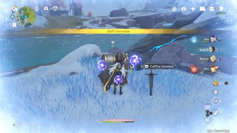 Genshin Impact : les trois coffres cachés des Monts de Dosdragon, notre guide