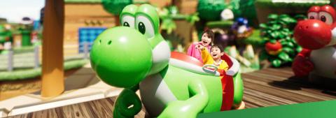 Super Nintendo World, le land de Nintendo, ouvre son site officiel