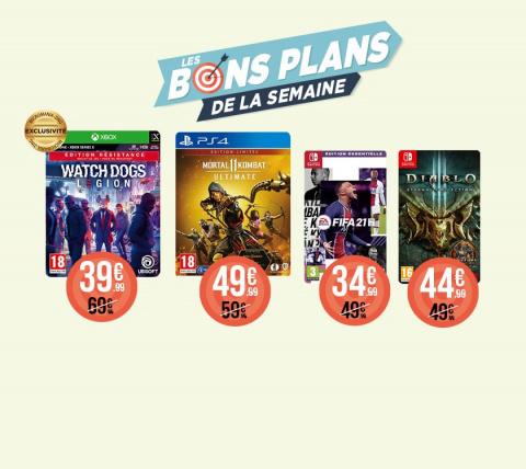 De nombreuses promotions chez Micromania sur PS4, XONE et Switch