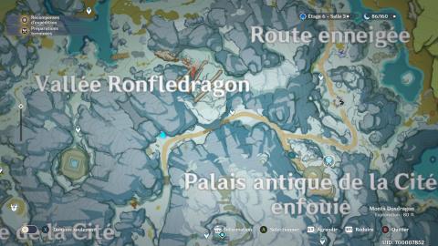 Genshin Impact, Tombe-Neige en Argétoile 4 étoiles gratuits : emplacement des 8 stèles