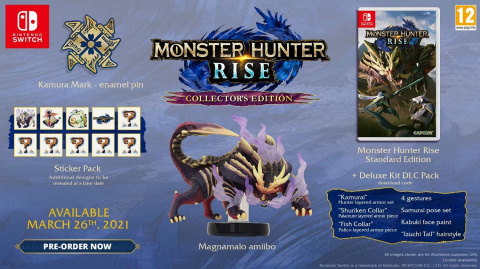 Monster Hunter Rise Nintendo Switch Collector au meilleur prix chez la fnac