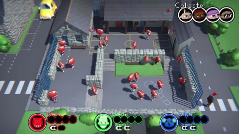 Unspottable : Un party-game très efficace où il faut se dissimuler dans la foule