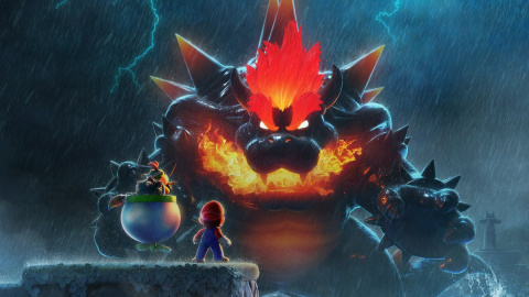 Super Mario 3D World + Bowser's Fury : La puissance du Bowser géant