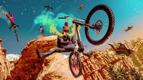 Riders Republic - La production PS5, Xbox Series, repousse sa date de sortie