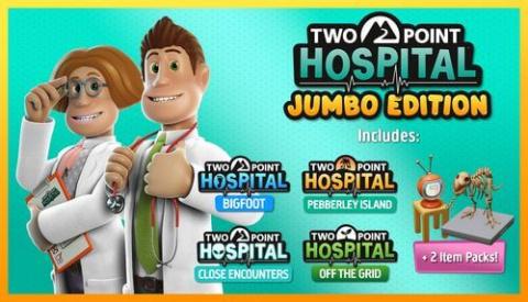 Two Point Hospital : La Jumbo Edition arrive sur console