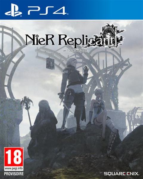 NieR Replicant Remake : le pendentif grimoire offert avec le jeu