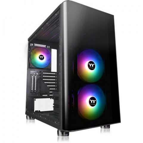 Soldes Thermaltake : Le boîtier PC gamer View 31 Tempered Glass ARGB à 45% de réduction