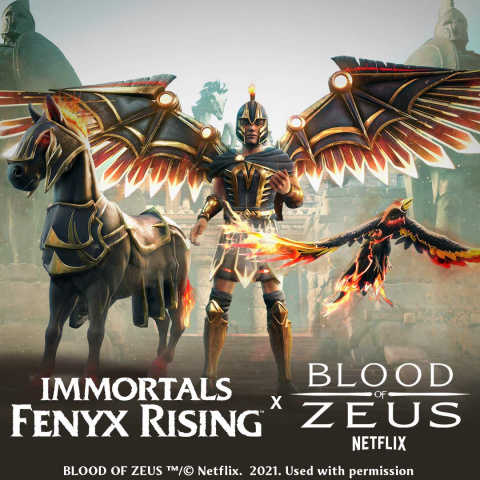 La série Netflix Blood of Zeus s'incruste dans Immortals Fenyx Rising