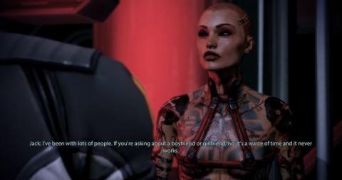 Mass Effect 2 - BioWare confirme que Jack devait être pansexuelle