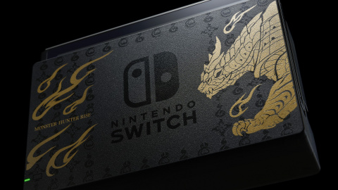 Nintendo Switch : Une console collector Monster Hunter Rise (+ manette pro) arrive en France