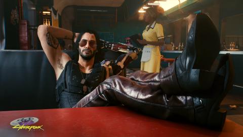 Cyberpunk 2077 : Un mod pour passer la nuit avec Keanu Reeves retiré à la demande de CD Projekt Red