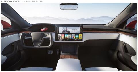 La dernière Tesla dispose d'une console intégrée aussi puissante que la PS5