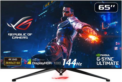 """Soldes Asus : l'écran PC Gamer 65"""" 4K 120Hz en réduction à -22%"""
