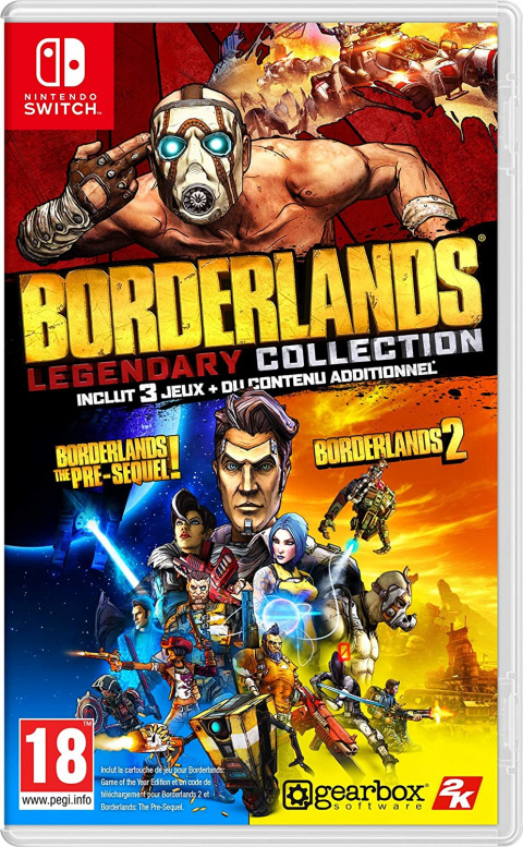 Bon plan Nintendo Switch : -65% sur Borderlands Legendary Collection