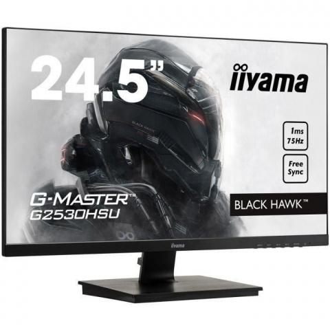 """L'écran Iiyama GMaster Black Hawk 27"""" 1ms 75hz à 170€"""