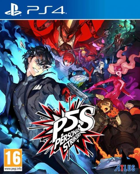 Soldes PS4 : la précommande Persona 5 : Striker en réduction à -25%