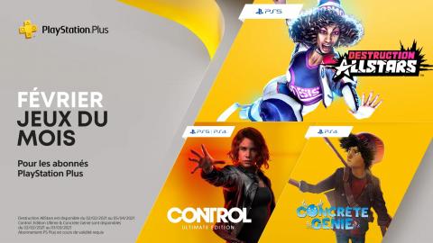 PlayStation Plus : découvrez les jeux PS4 et PS5 inclus de février 2021