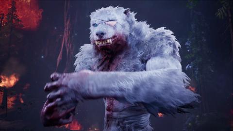 Werewolf The Apocalypse : Un loup-garou tombé au champ d'honneur