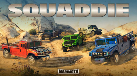 GTA Online : Gains bonus, Mammoth Squaddie, et promotions de la semaine