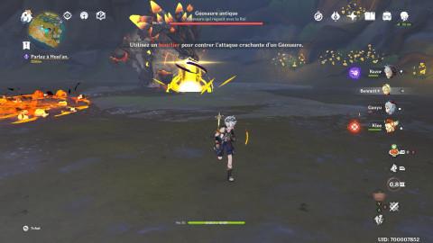 Genshin Impact, Geosaure antique : notre guide pour vaincre le nouveau boss