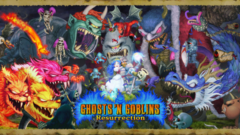 Ghost 'n Goblins Resurrection, soluce, guide