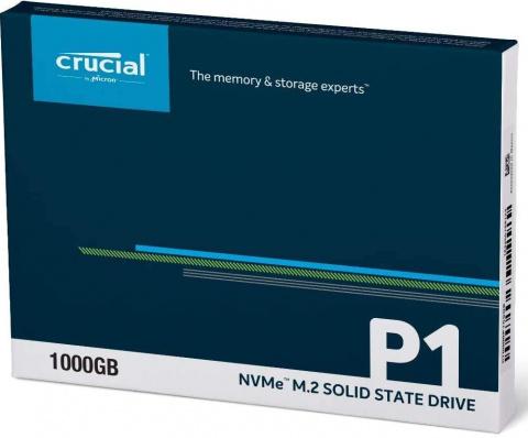 Crucial P2 : Un SSD NVMe de 1To ultra rapide à moins de 100€