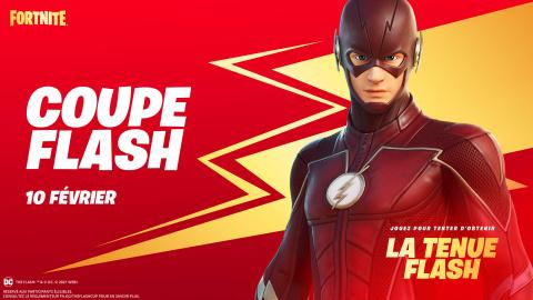 Fortnite : Flash débarque à toute vitesse
