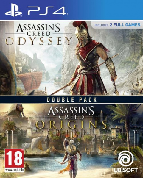 Soldes PS4 : Double Pack Assassin's Creed Origins + Odyssey à -20%