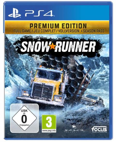 Soldes PS4 : SnowRunner Edition Premium en réduction à -24%