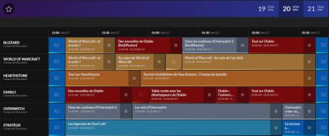 BlizzConline : Blizzard dévoile le programme complet de l'événement