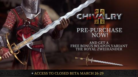 Chivalry 2 annonce sa date de sortie et s'offre une bêta fermée