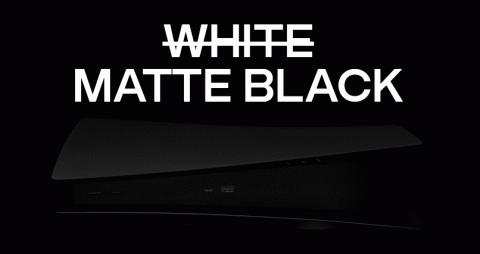 """PS5 : Des plaques custom matte noires en précommande """"légalement"""" chez Dbrand"""