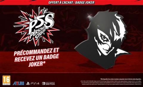 Bon Plan PS4 : offres spéciales pour Persona 5 Strikers