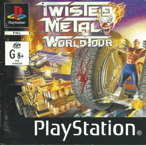 Twisted Metal 2 sur PS1