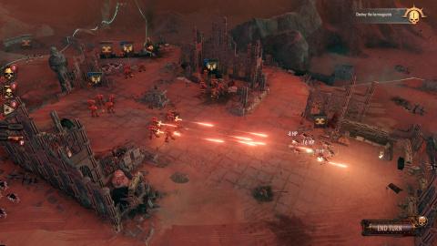 Warhammer 40,000 Battlesector annoncé par Slitherine (Battlestar Galactica Deadlock)