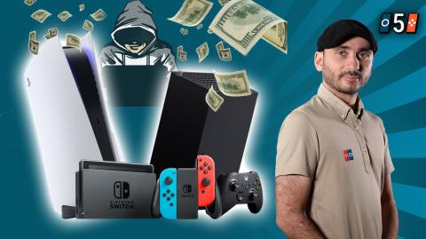 PS5 et Xbox Series : les consoles revendues à prix d'or, ce n'est pas une première !