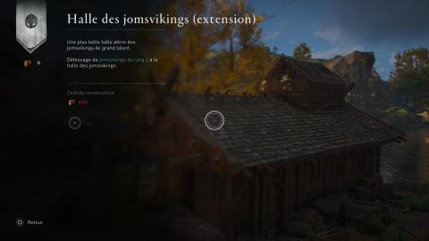 Améliorations des Jomsviking, de la caserne et du Drakkar