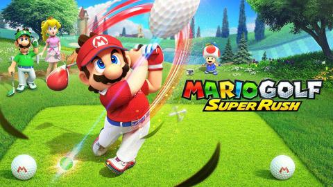 Mario Golf : Super Rush sur Switch