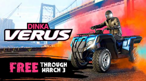 GTA Online : Le nouveau Dinka Verus gratuit, bonus et promotions