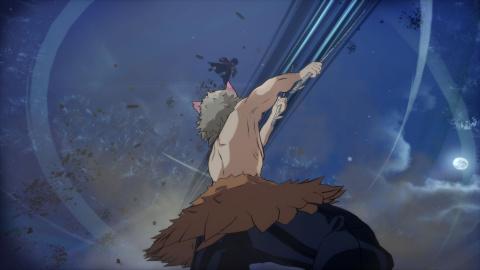 Demon Slayer : Hinokami Keppuutan - Inosuke Hashibira se déchaîne