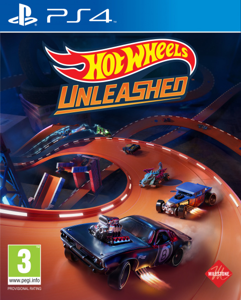 Hot Wheels Unleashed sur PS4