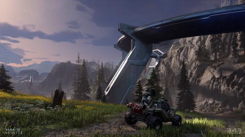 Halo Infinite : Combats, environnements, météo, 343 Industries donne de nouvelles infos