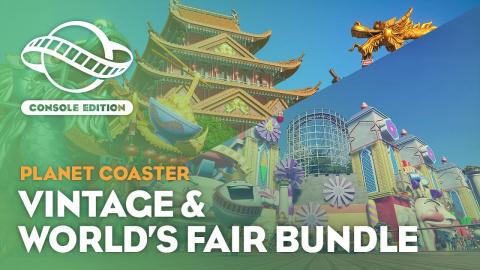Planet Coaster Console Edition : The Vintage & World's Fair Bundle