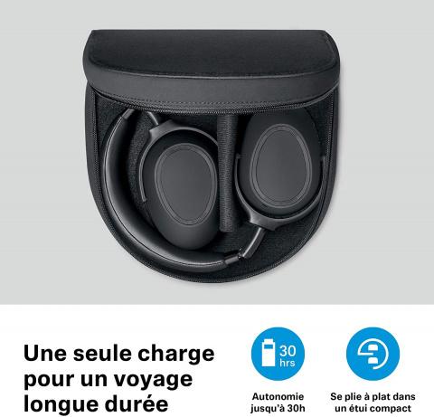 Soldes audio : un casque sans fil Sennheiser avec réduction de bruit avec plus de 50% de réduction