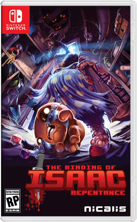 The Binding of Isaac : Repentance sur Switch