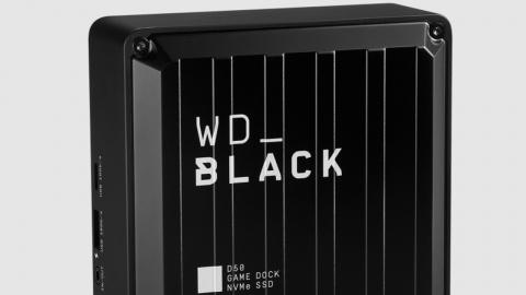 Test du WD Black D50 Game Dock : bien plus qu'un SSD externe !